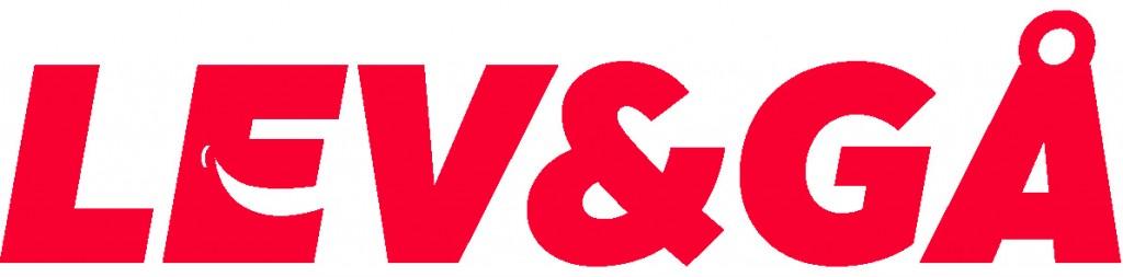 LEV&GÅ logoPMS199