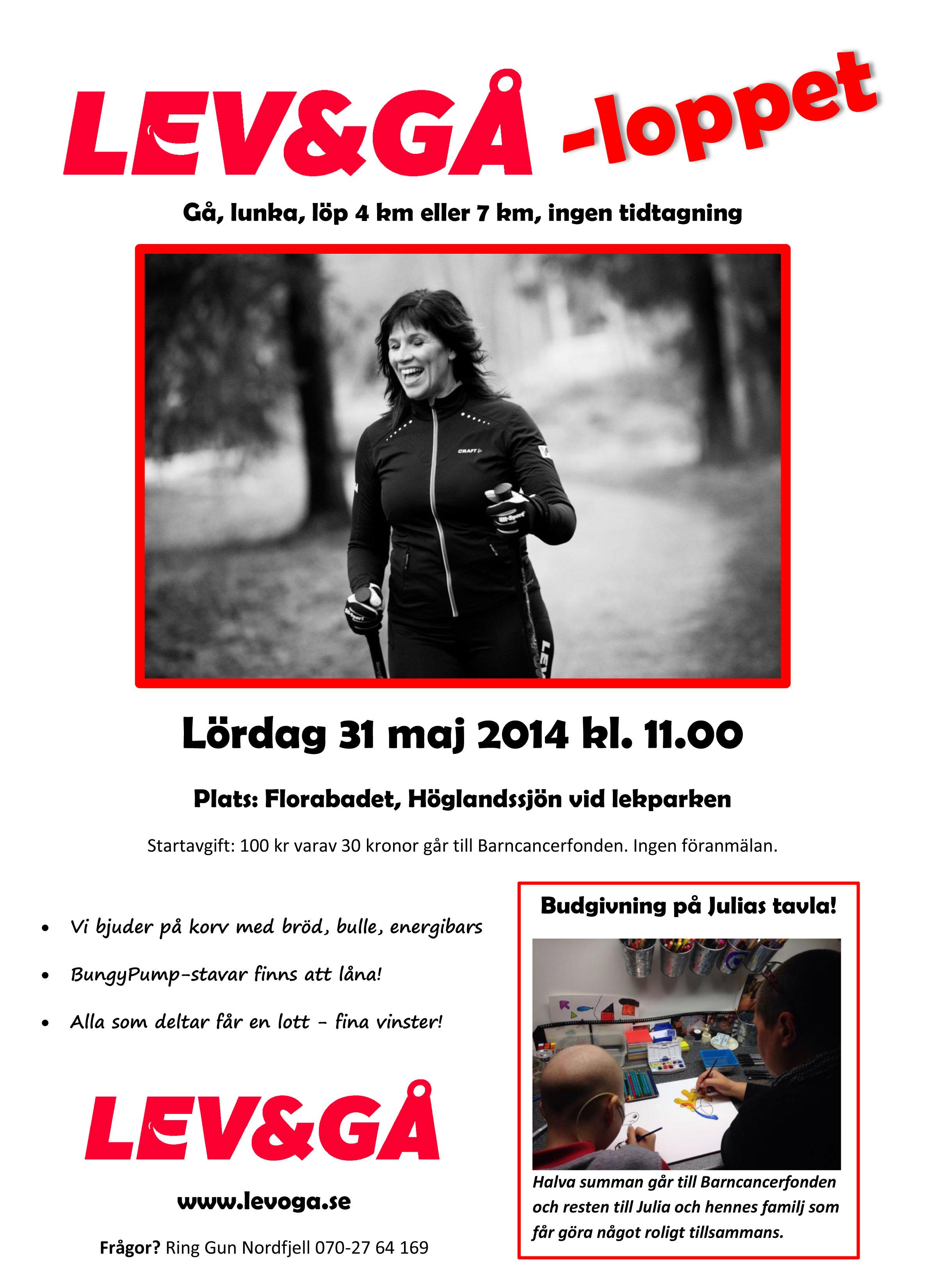 levogå-loppet 2014
